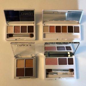 4 Clinique eyeshadow palettes